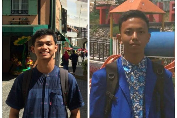 Muhammad Irfan dan Muhammad Hanan, dua siswa peraih nilai sempurna atau 1.000 untuk program Saintek UTBK 2021.