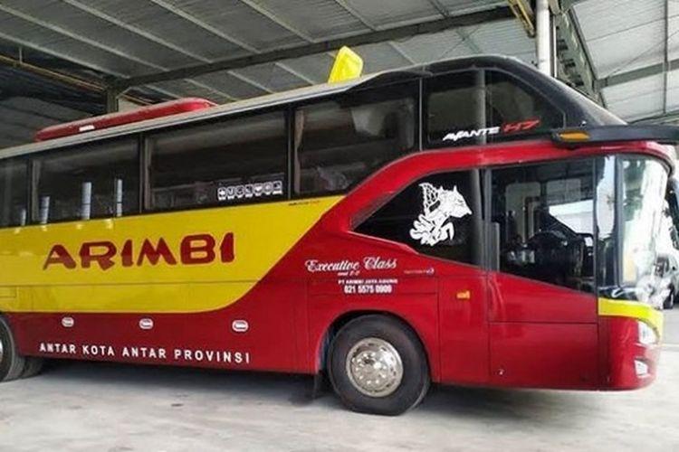 Bus AKAP baru PO Arimbi