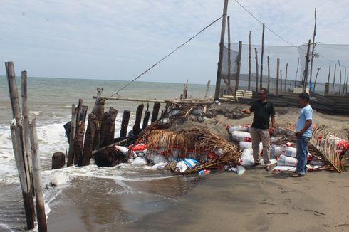 Abrasi Pantai Rusak Puluhan Rumah dan Tambak di Aceh Utara