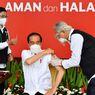 Disuntik Vaksin Covid-19 yang Kedua, Jokowi: Tidak Terasa Sakit