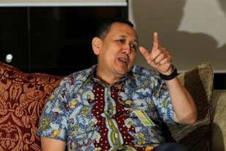 Direktur Utama PT Bank Bukopin Tbk, Glen Glenardi saat ditemui di Gedung Bukopin, Jakarta, Selasa (2/2/2016).