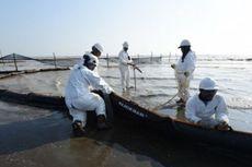 Penanggulangan Tumpahan Minyak Pertamina di Kepulauaan Seribu Rampung