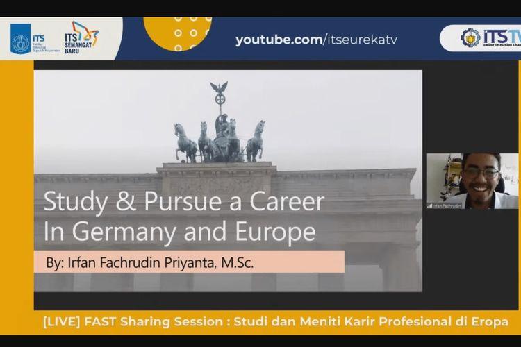 Tips Kuliah dan Gapai Karier di Jerman dan Perancis dari Alumni ITS