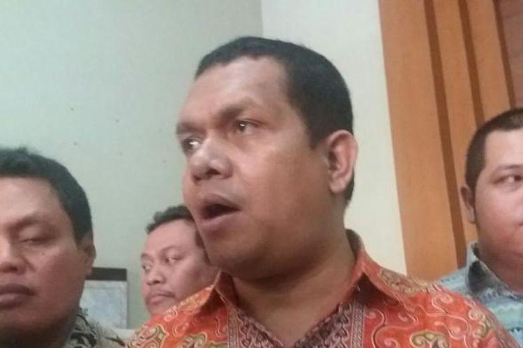 Ketua DPP Partai Golkar versi Munas Ancol, Melki Laka Lena, saat ditemui di Kantor Forum Komunikasi TNI Jalan Senen Raya, Jakarta Pusat, Jumat (27/11/2015)