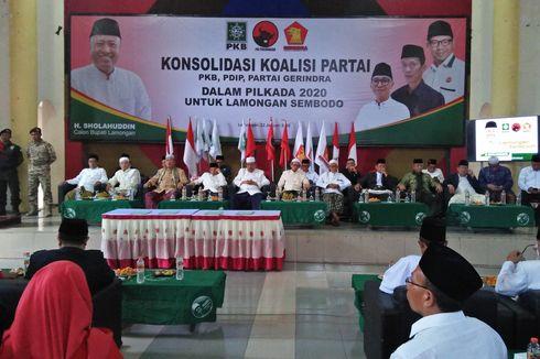Jelang Pilkada 2020, PKB, Gerindra, dan PDI-P Munculkan Koalisi 'Untuk Lamongan Sembodo'