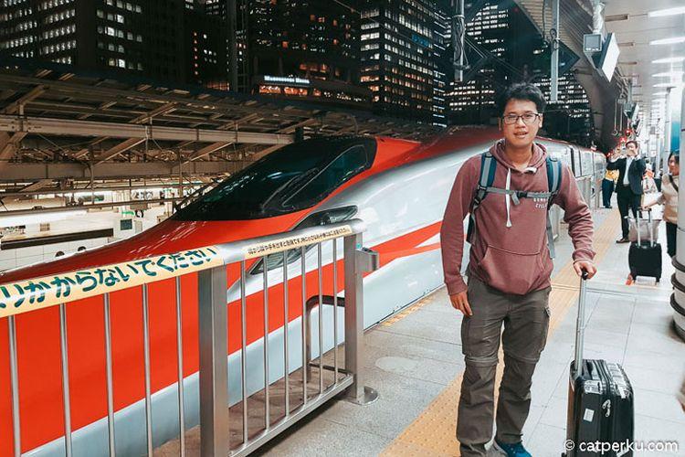 Pergi ke Kakunodate dengan Shinkansen-Komachi dalam waktu 3 jam (Foto: catperku.com)