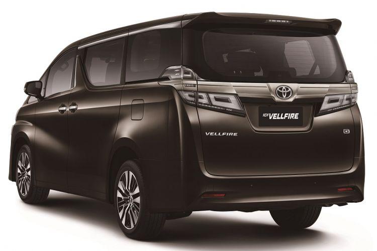 Toyota Vellfire 2018.