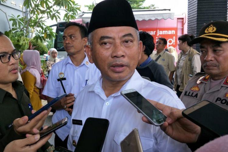 Wali Kota Bekasi, Rahmat Effendi saat ditemui di Pekayon, Jatiasih, Kota Bekasi, Selasa (19/2/2019).