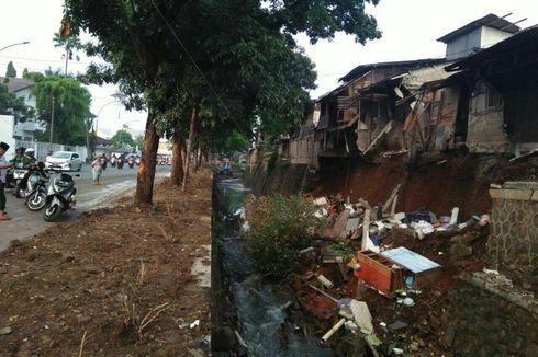 Perbaikan Turap Ambles di Bintaro Diperkirakan Selesai 1,5 Bulan