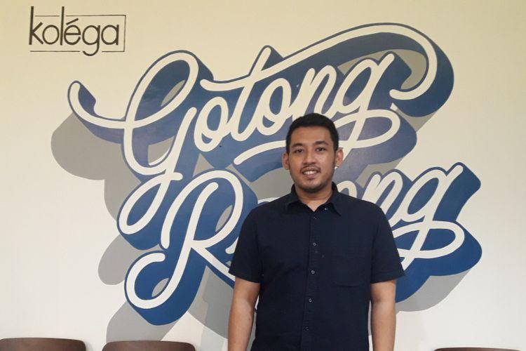 CEO Kolega Rafi Hiramsyah
