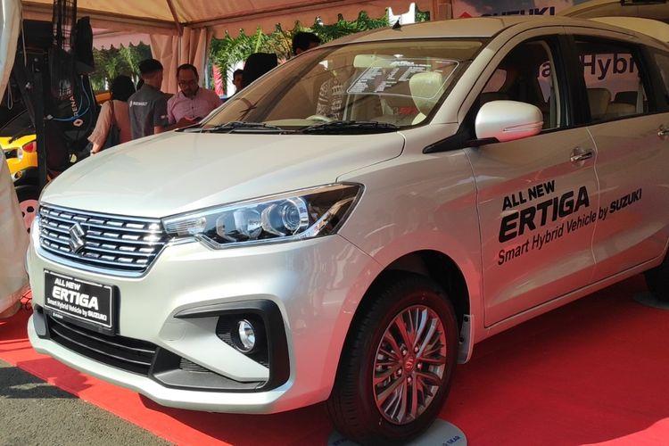 Suzuki All New Ertiga dengan teknologi Smart Hybrid