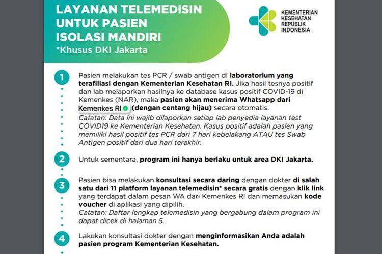 Khusus untuk DKI Jakarta, Ini Cara Dapatkan Obat Gratis bagi Pasien Isoman  Covid-19 Halaman all - Kompas.com