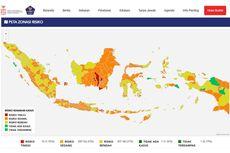 Ada 5.504 Kasus Baru, Berikut Daftar Zona Merah dan Hijau di Indonesia
