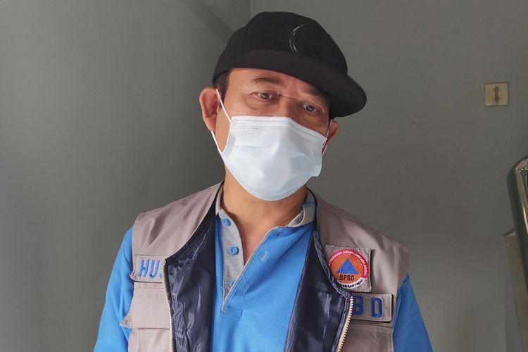 Bupati Banyumas Achmad Husein di kompleks rumah dinas, Senin (31/8/2020).
