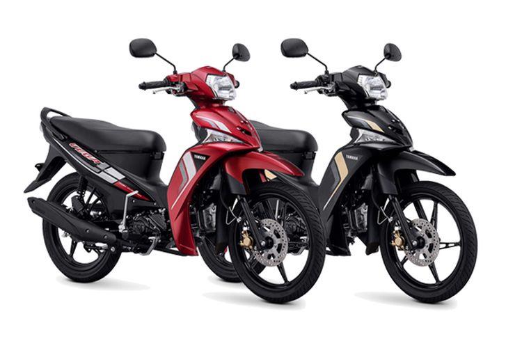 Yamaha Vega Force 2021 dengan dua pilihan warna baru
