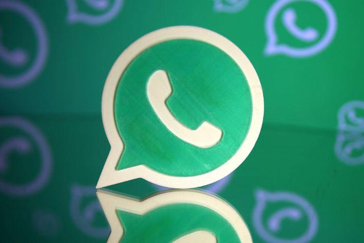 Ilustrasi logo WhatsApp