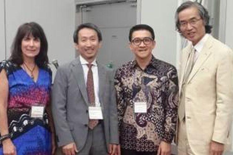 Penulis saat menghadiri World Psychiatric Association Regional Meeting 2015 di Osaka, Jepang.