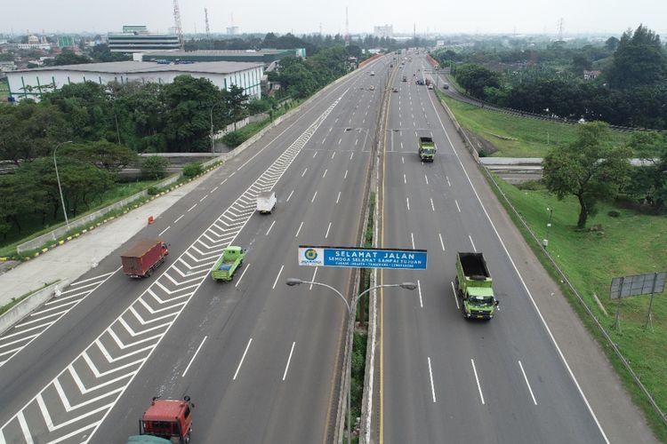 Jalan Tol Jakarta-Tangerang.