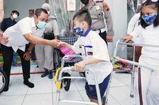 Resmikan Tempat Fisioterapi, Wali Kota Hendi Motivasi Penderita Cerebral Palsy