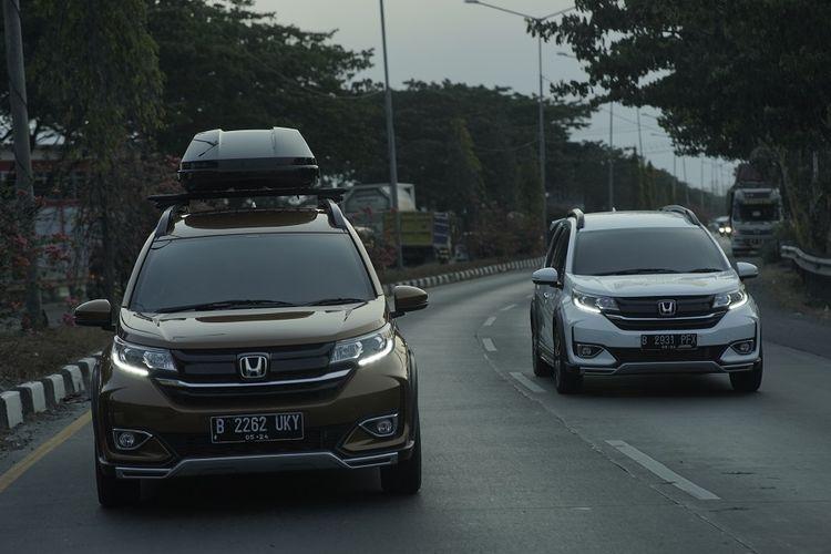 Honda BR-V saat menelusuri sejumlah sentra batik dalam acara Merapah 5 Warisan Budaya Batik.