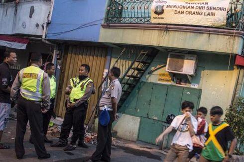 Polisi Terkena Lemparan Air Keras, Kawasan Johar Baru Dirazia