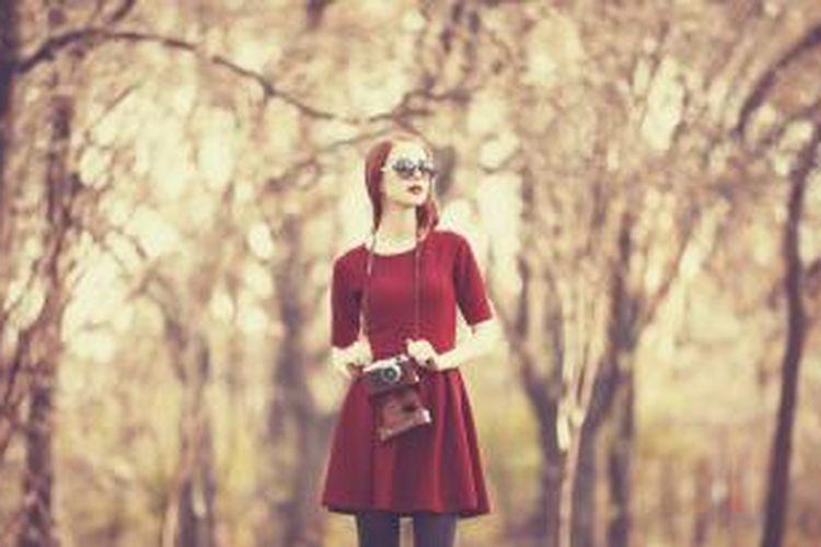 Gaya vintage mengadaptasi fashion era tahun 1920-an hingga 1960-an