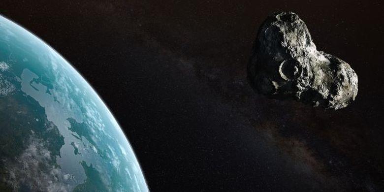Sabtu, (10/8/2019), Asteroid 2006 QQ23 yang ukurannya 4 kali lipat lebih besar dari Monas akan terbang melintasi Bumi, tapi ini bukan ancaman untuk kita.