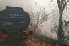 Hutan Lindung Seluas 20 Hektar di Flores Terbakar
