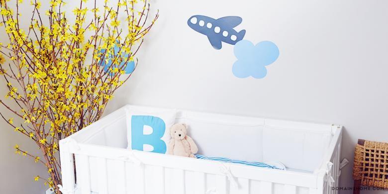 Tempat tidur bayi di dalam rumah Jamie-Lynn Sigler.