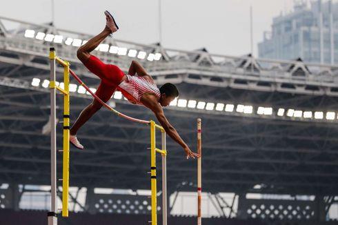 Tahap Sikap Melayang di Udara dalam Lompat Tinggi