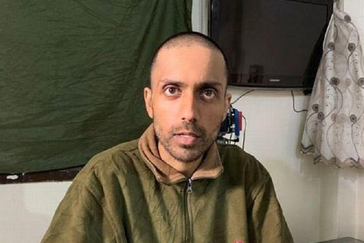 Hamza Parvez, anggota Negara Islam Irak dan Suriah (ISIS) asal Inggris yang dikenal dengan nama Hungry Hamza.