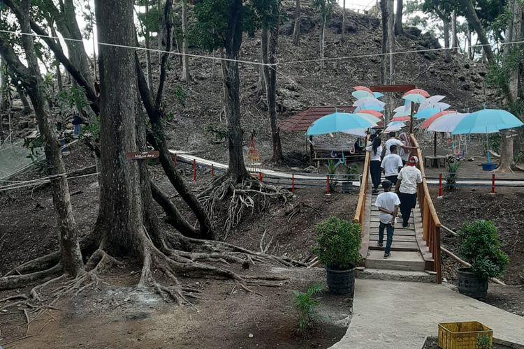 Beiji Park, salah satu tempat wisata baru di Kabupaten Pacitan dan telah dibuka kembali untuk umum.