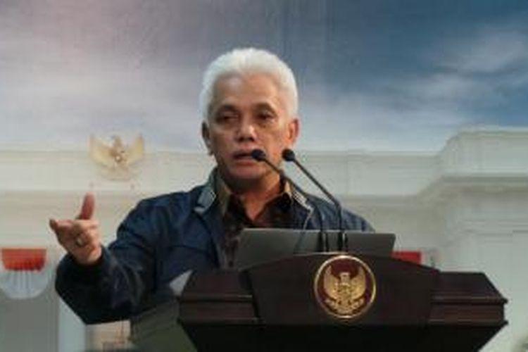 Menteri Koordinator bidang Perekonomian Hatta Rajasa