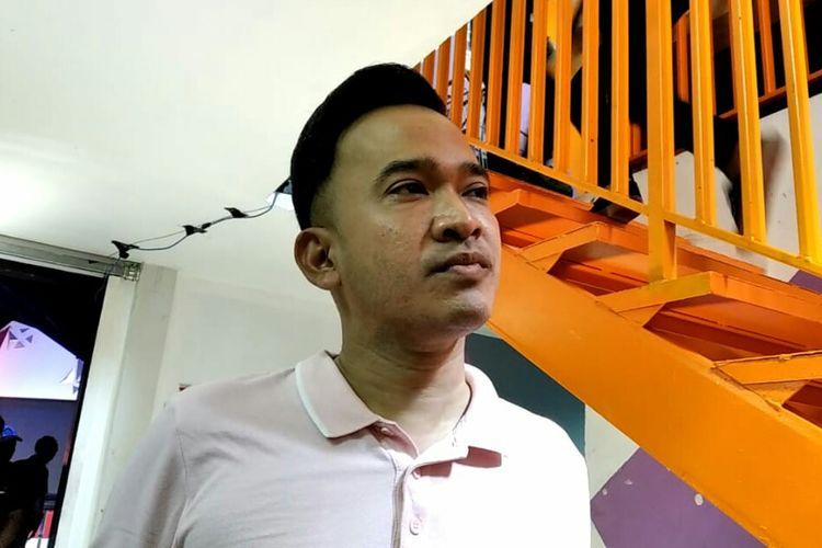 Ruben Onsu di kawasan Mampang, Jakarta Selatan, Selasa (22/10/2019).