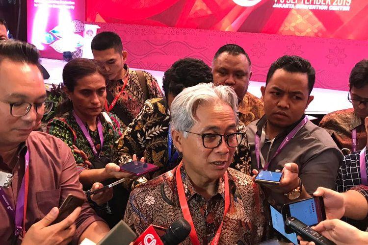 Kepala SKK Migas Dwi Sutjipto di Jakarta, Rabu (4/9/2019).