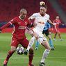 Babak I Liverpool Vs Leipzig - Salah Buang Peluang Emas, The Reds Masih Aman