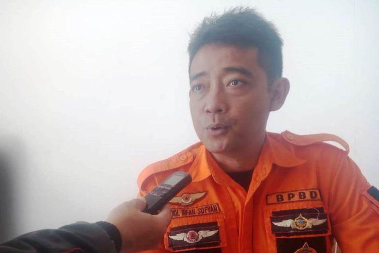 Sekretaris BPBD Cianjur, Mokhamad Irfan Sofyan