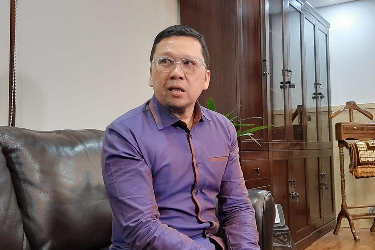 Ketua Komisi II DPR Ahmad Doli Kurnia di gedung DPR, Senayan, Jakarta, Selasa (7/1/2020).