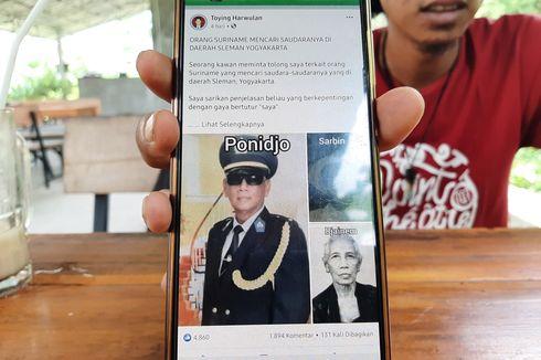 Pensiunan Polisi Asal Suriname Ini Cari Keluarganya di Sleman