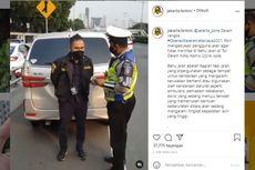 Video Viral Polisi Ceramahi Pengemudi Jangan Pakai Bahu Jalan Tol