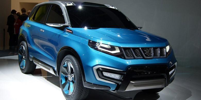 Konsep Suzuki iV-4 yang muncul di Frankfurt Motor Show 2013 lalu. Inspirasi Grand Vitara?
