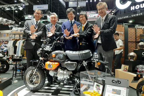 AP Honda Luncurkan Monkey Edisi Dragon Ball, Terbatas 100 Unit