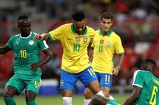 Hasil Brasil Vs Senegal, Laga Uji Coba di Singapura Berakhir Imbang