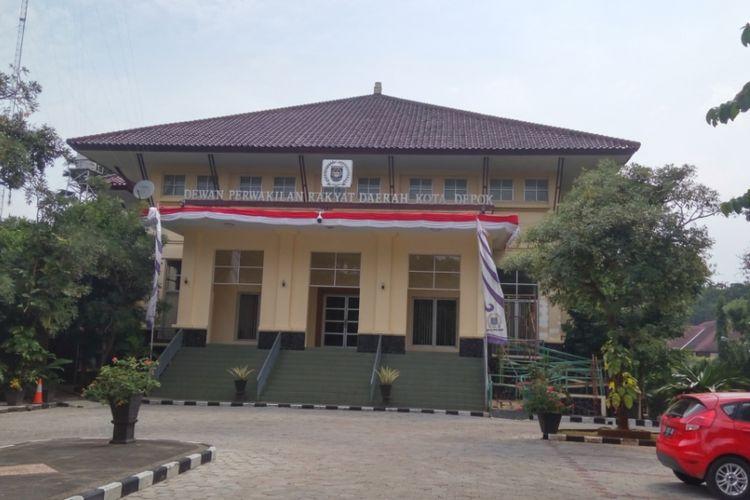 Gedung DPRD Kota Depok yang berlokasi di Jalan Raya Boulevard Kota Kembang, Depok.