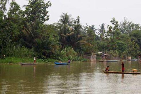 Empat Remaja Bogor Hanyut di Sungai Cisadane