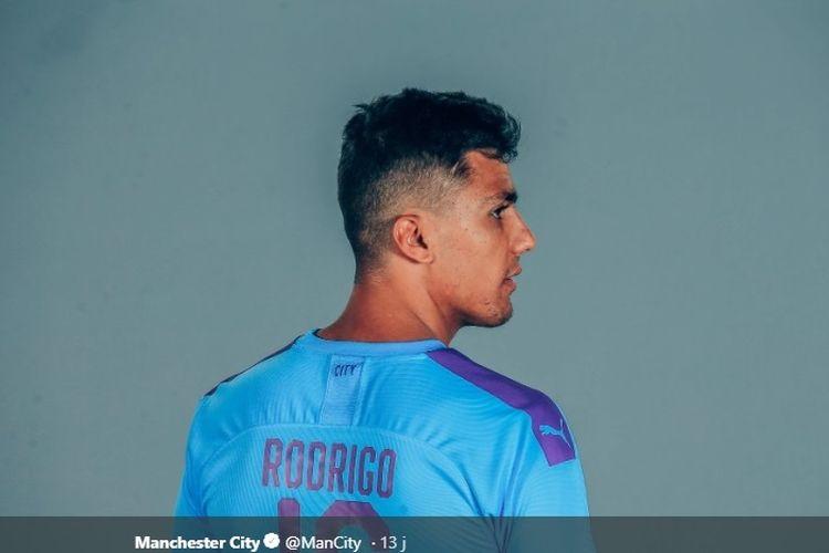 Rodrigo Hernandez Cascante alias Rodri, resmi bergabung dengan Manchester City.