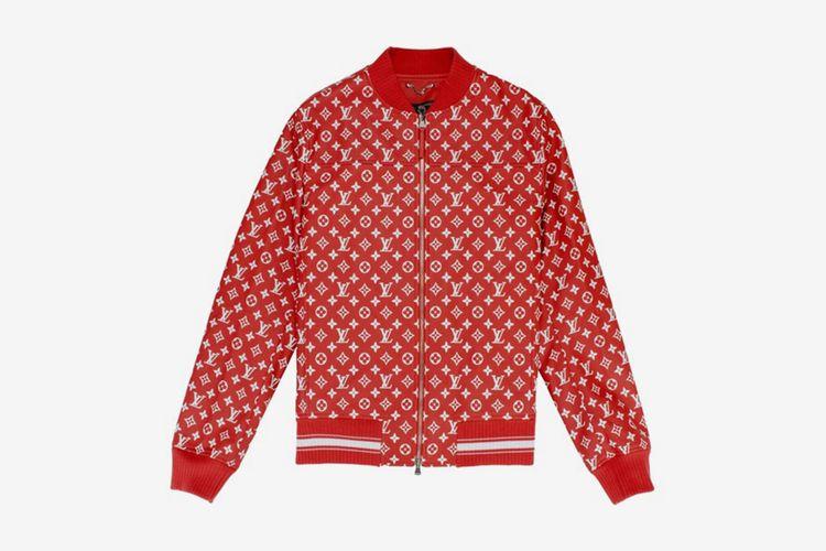 Supreme x Louis Vuitton Baseball Jacket
