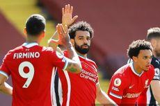 Liverpool Vs Newcastle, Gol Kilat Mo Salah Antar The Reds Unggul