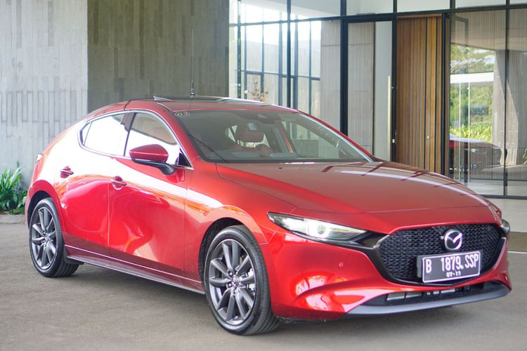 Media test drive All New Mazda3