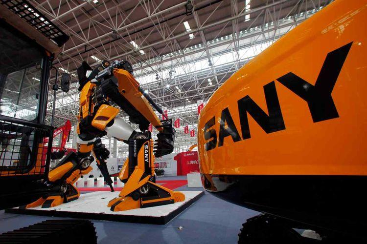 Produk ekskavator asal China, Sany Heavy Industry menyasar Indonesa sebagai pasar utama untuk memasarkan produknya.
